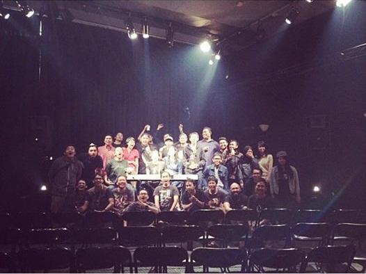 Tim Produksi Konser Tentang Rasa
