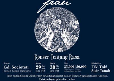 Konser Tentang Rasa – Yogyakarta (2015)